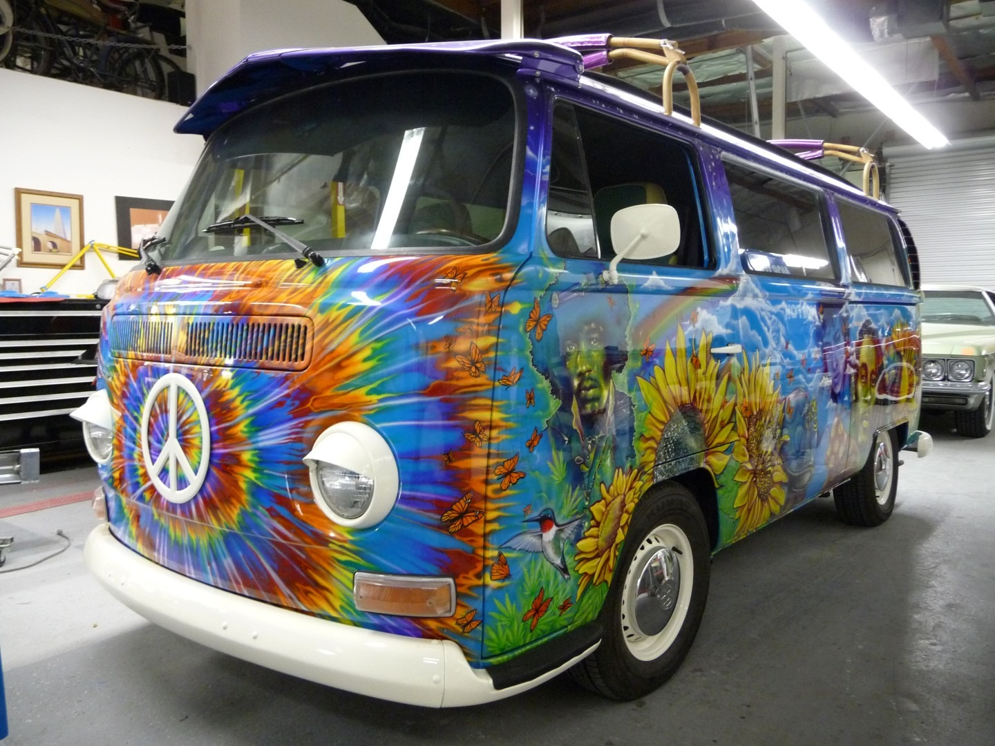 1972 vw hippie bus loose cannon customs. Black Bedroom Furniture Sets. Home Design Ideas